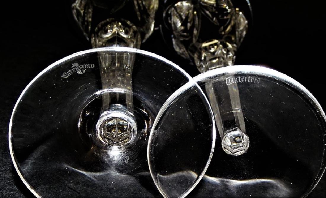 PR WATERFORD CUT CRYSTAL CHAMPAGNE FLUTES - 3