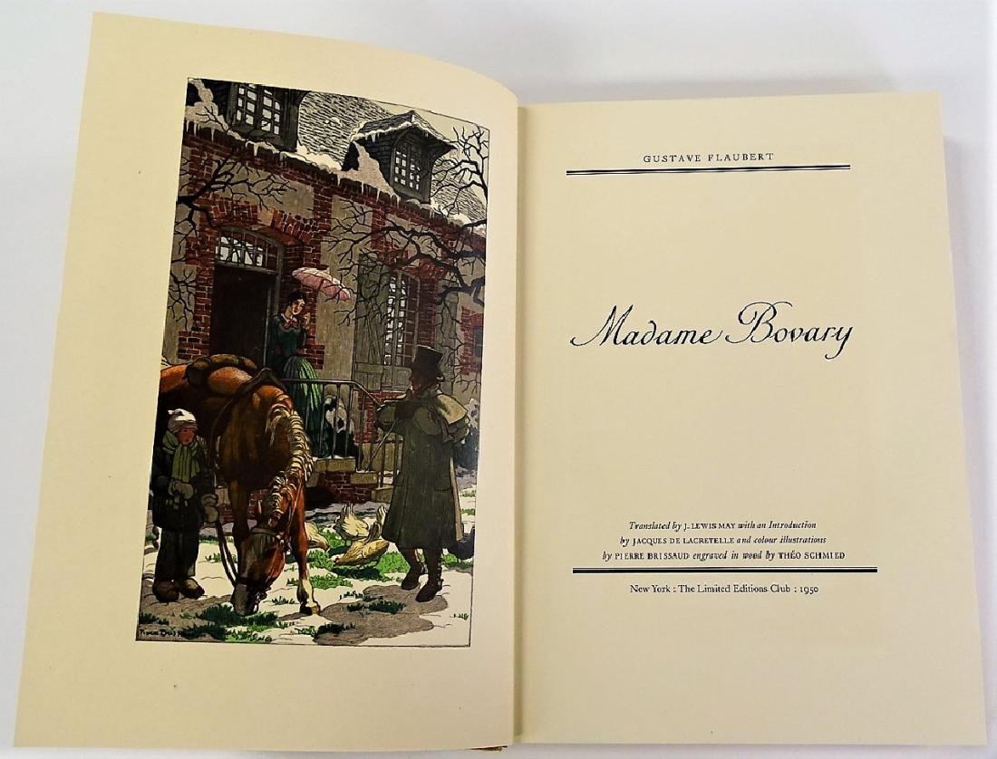 LIMITED ED. CLUB ILLUSTRATED COPY 'MADAME BOVARY' - 3