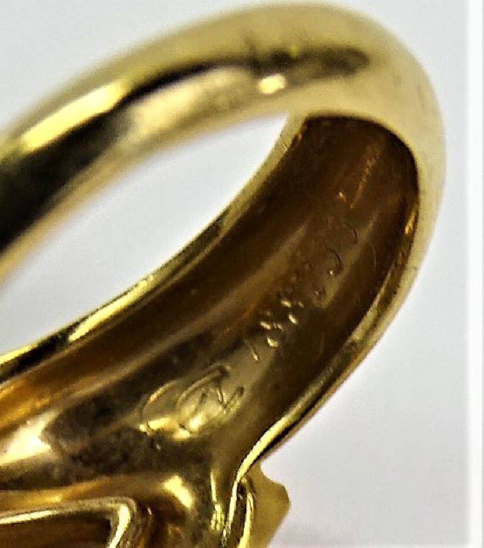 CARRERA Y CARRERA 18KT GOLD DIAMOND PANTHER RING - 2