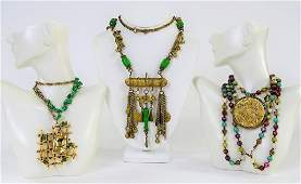LOT OF ETHNIC  ASIAN NECKLACES