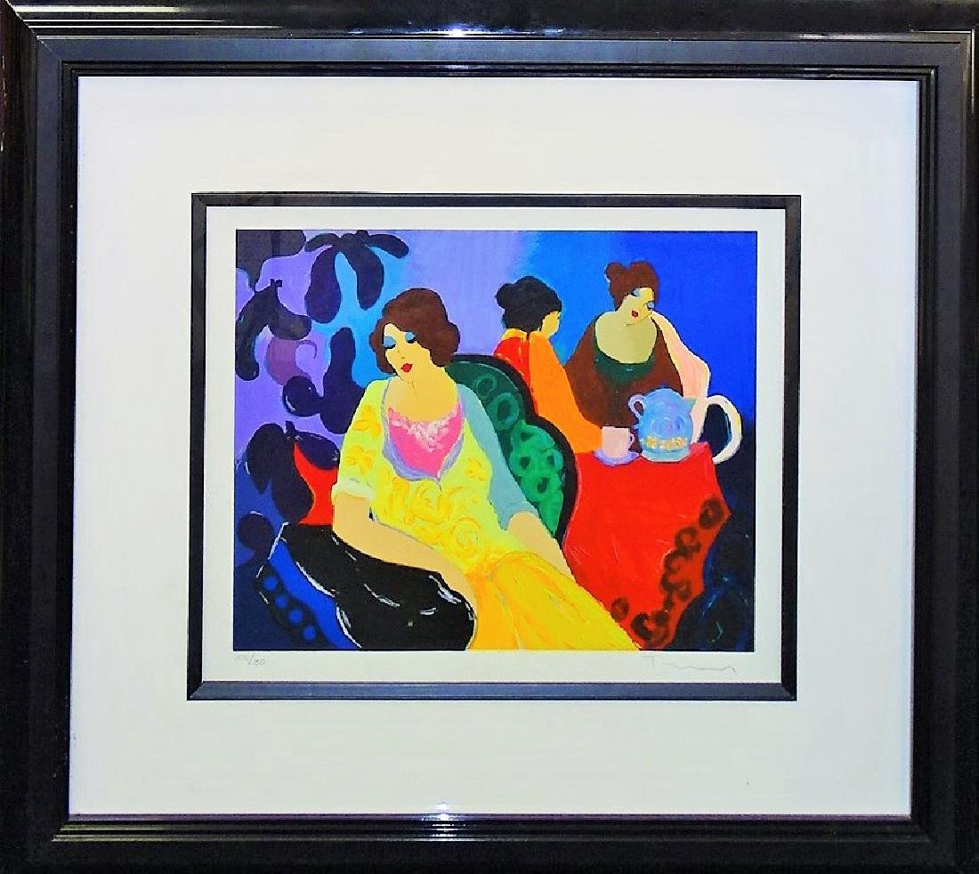 TARKAY LIMITED EDITION COLOR SERIGRAPH SIGNED