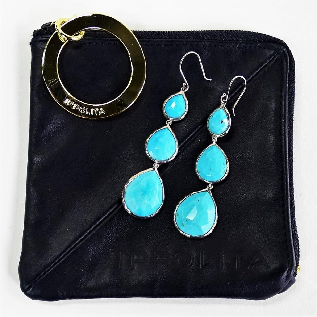 PR IPPOLITA TRIPLE TEARDROP ROCK CANDY EARRINGS