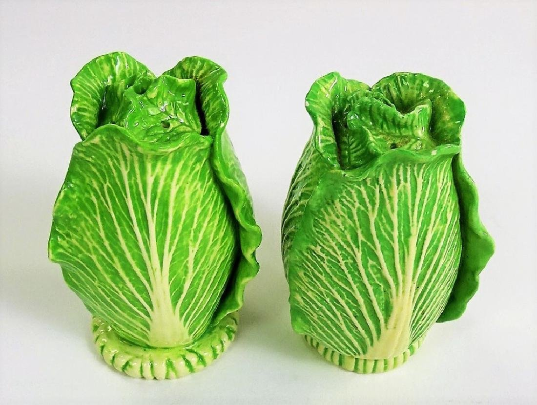 EXTREMELY RARE DODIE THAYER LETTUCE WARE SHAKERS