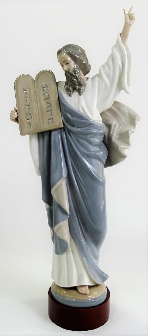 LLADRO MOSES WITH BASE #5170