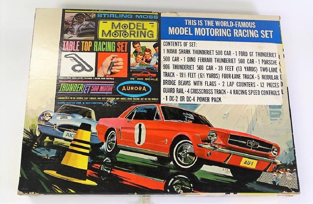 AURORA MODEL MOTORING HO SLOT RACE CAR TRACK