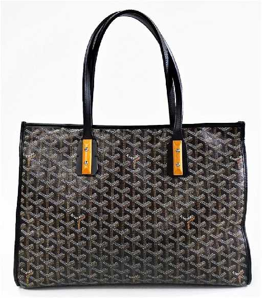 GOYARD GOYARDINE MARQUISES TOTE W DUST COVER - How to create a paypal invoice goyard online store