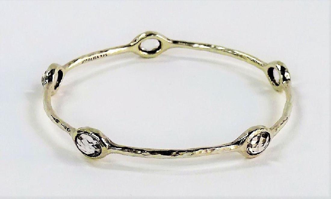 VTG IPPOLITA STERLING ROCK CANDY BANGLE BRACELET