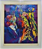 LEROY NEIMAN SAX MAN LIMITED EDITION SERIGRAPH