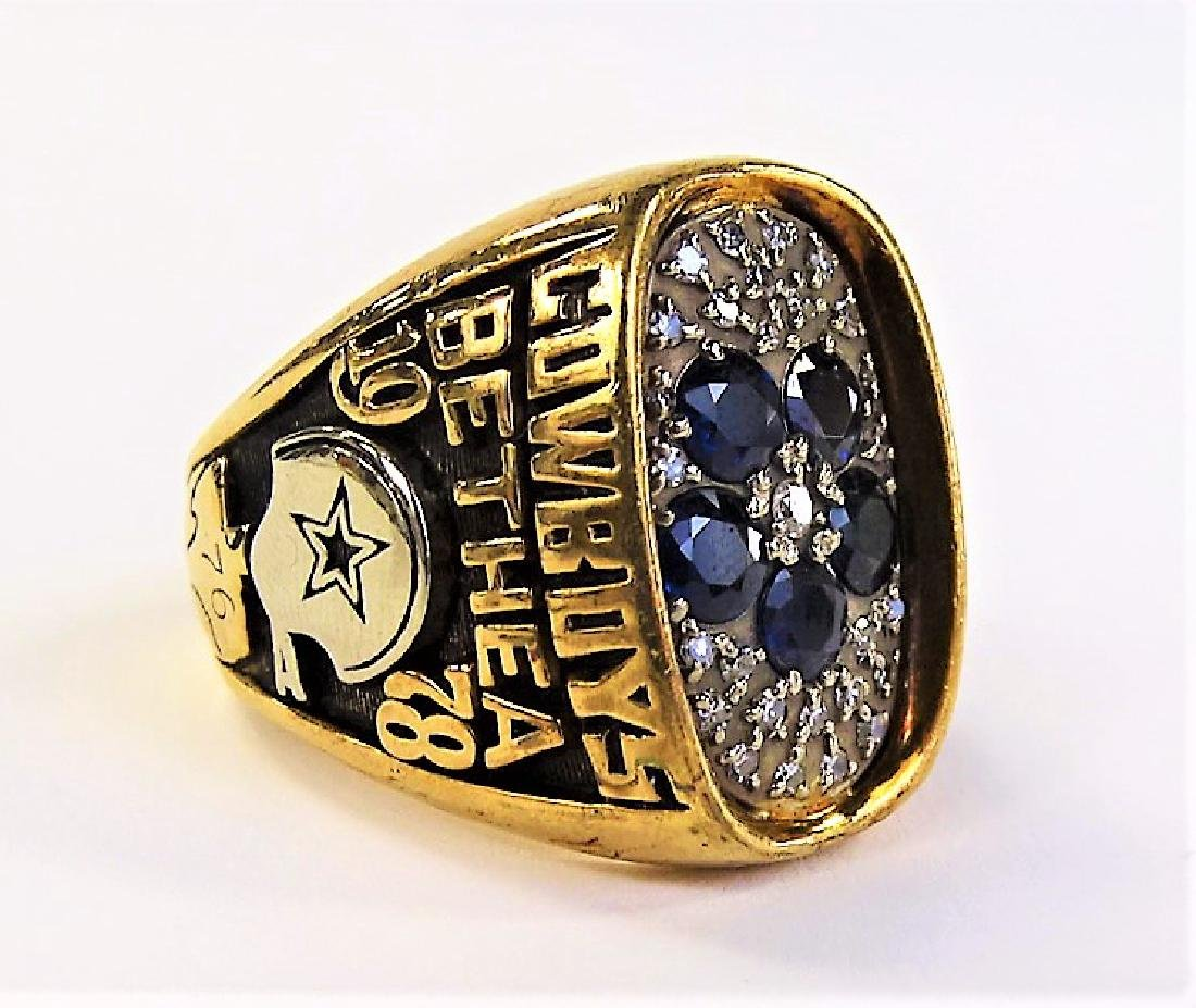 1978 LARRY BETHEA DALLAS COWBOY NFC CHAMPION RING