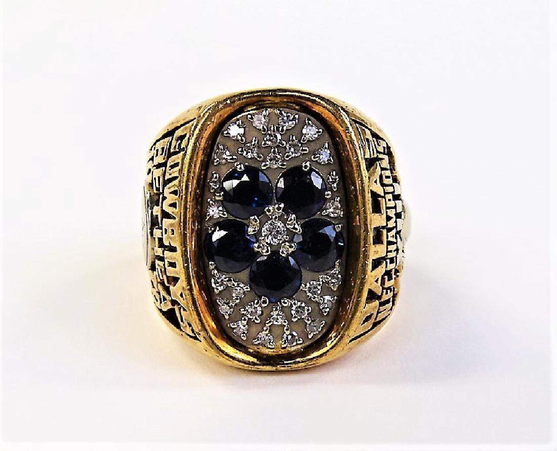 1978 LARRY BETHEA DALLAS COWBOY NFC CHAMPION RING - 2