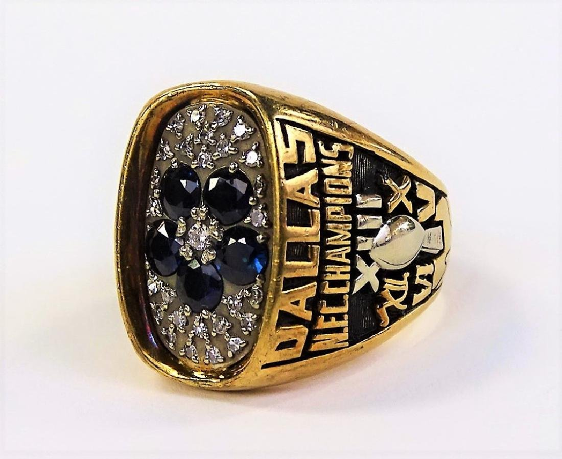 1978 LARRY BETHEA DALLAS COWBOY NFC CHAMPION RING - 3