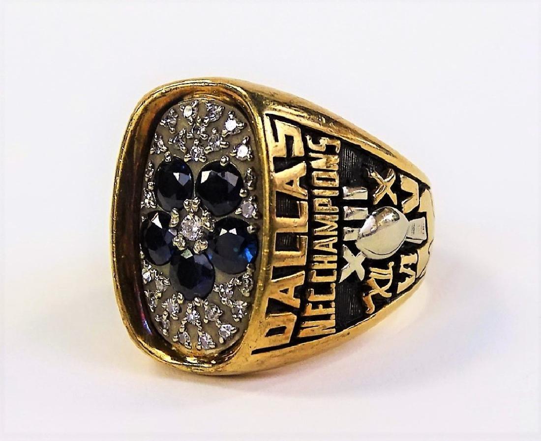 1978 LARRY BETHEA DALLAS COWBOY NFC CHAMPION RING - 3