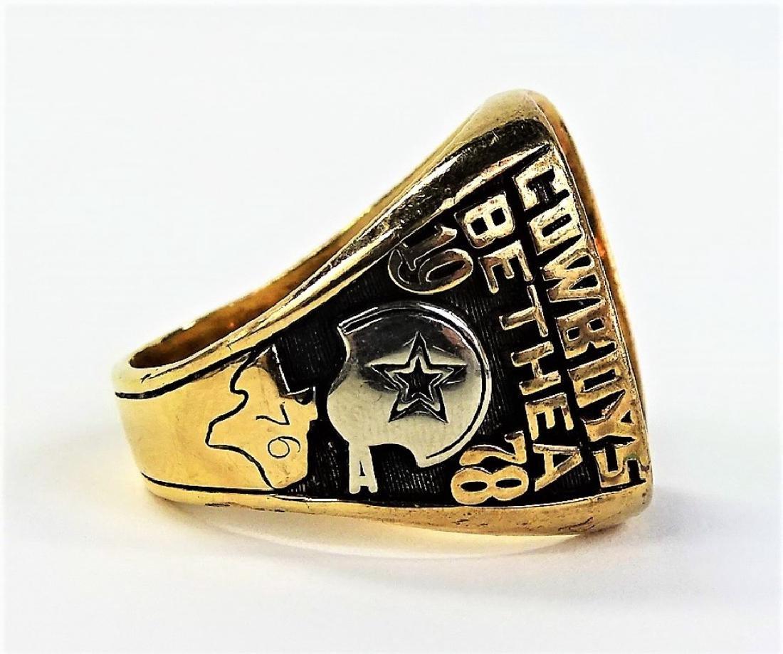 1978 LARRY BETHEA DALLAS COWBOY NFC CHAMPION RING - 4