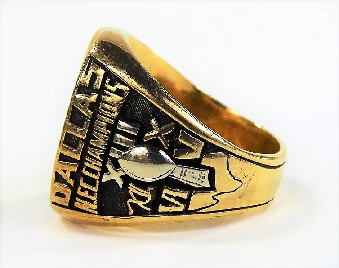 1978 LARRY BETHEA DALLAS COWBOY NFC CHAMPION RING - 5