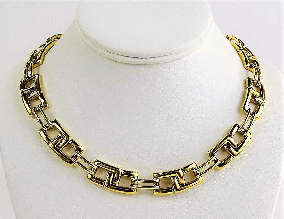 c3ef4bee2c0 TIFFANY   CO 18KT GOLD ITALIAN LINK NECKLACE