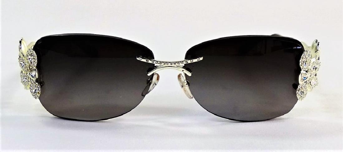 LADIES CAVIAR CHAMPAGNE SERIES SUNGLASSES - 2