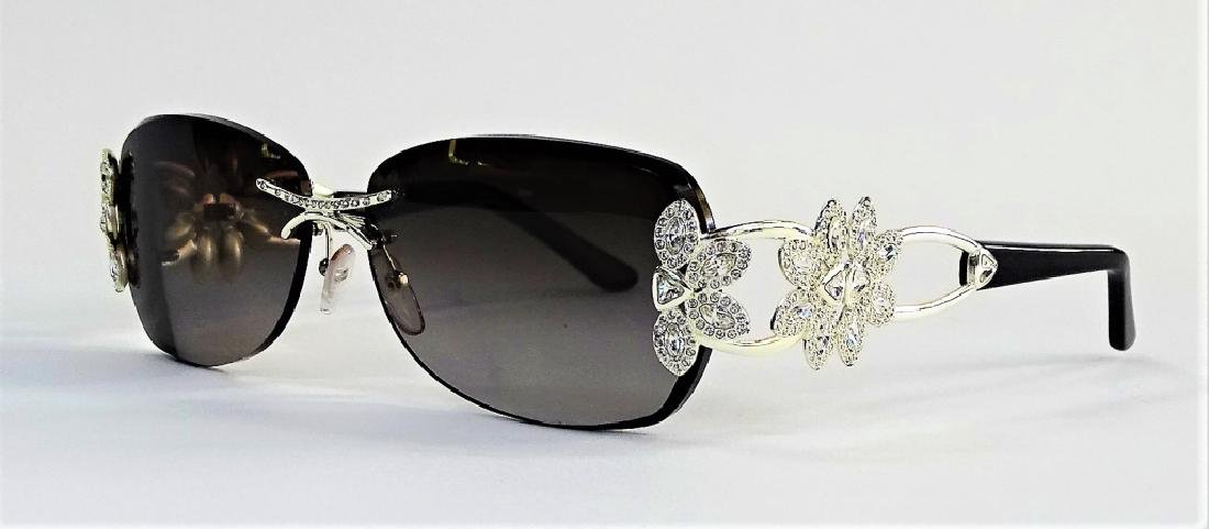 LADIES CAVIAR CHAMPAGNE SERIES SUNGLASSES - 3