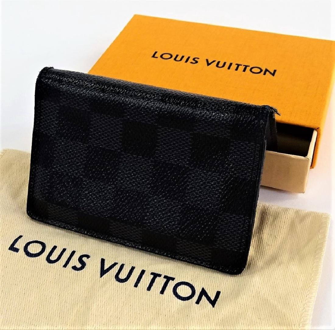 LOUIS VUITTON DAMIER GRAPHITE POCKET ORGANIZER - 2