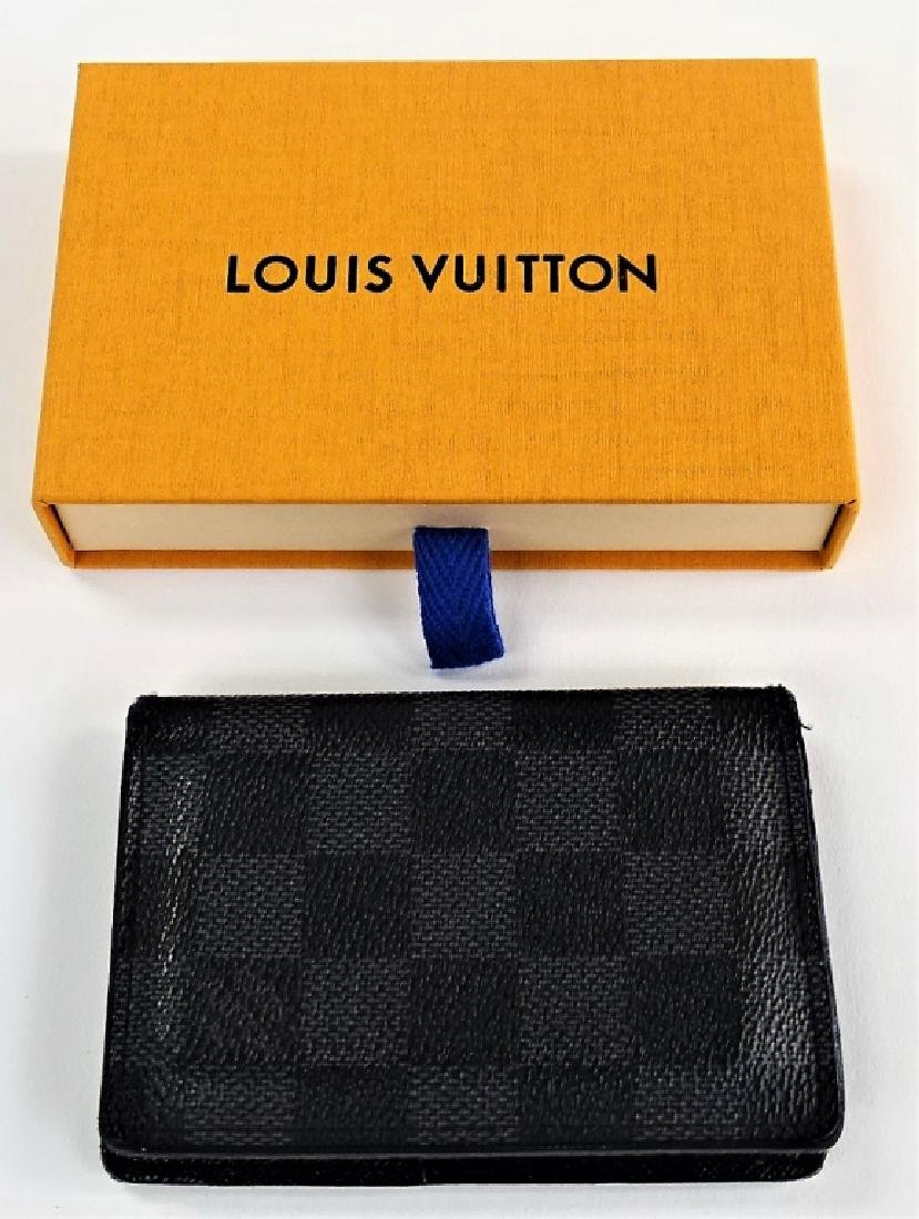 LOUIS VUITTON DAMIER GRAPHITE POCKET ORGANIZER - 3