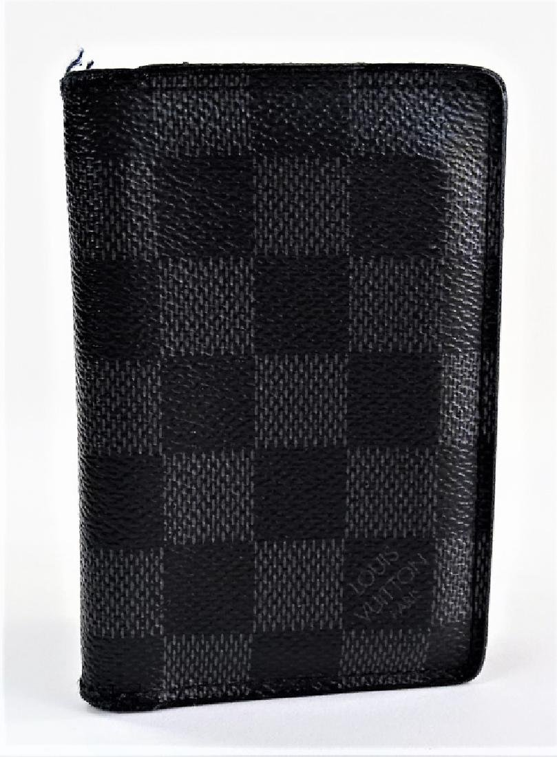 LOUIS VUITTON DAMIER GRAPHITE POCKET ORGANIZER - 4
