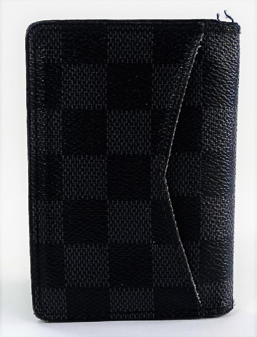 LOUIS VUITTON DAMIER GRAPHITE POCKET ORGANIZER - 7