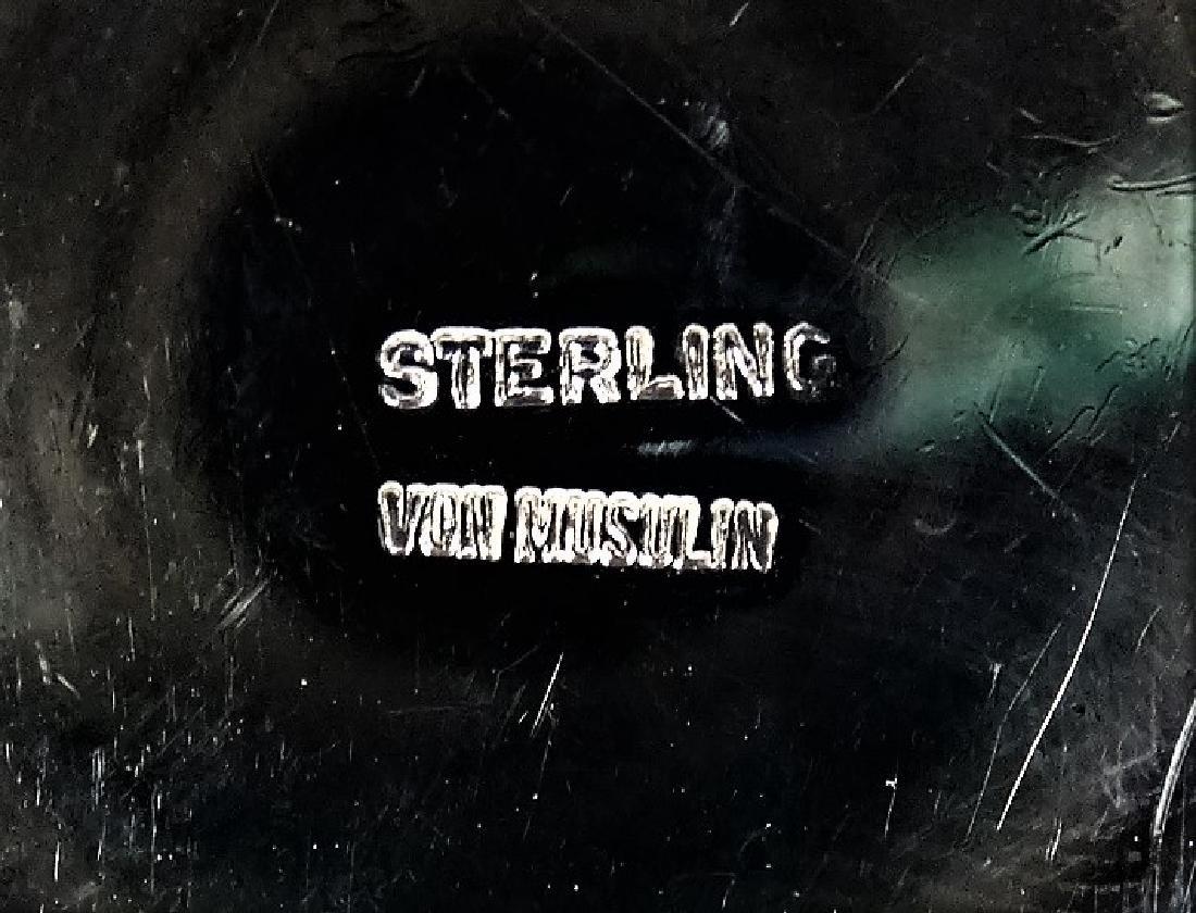 PATRICIA VON MUSILIN STERLING SILVER BELT - 4