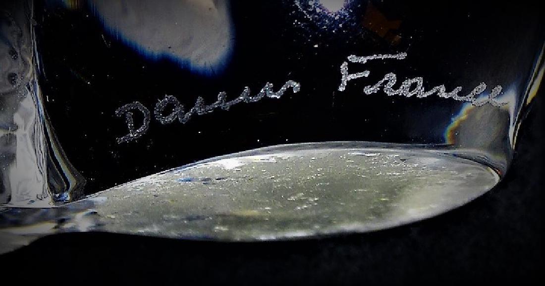 DAUM FRANCE WISE MONKEY CRYSTAL FIGURINE - 5