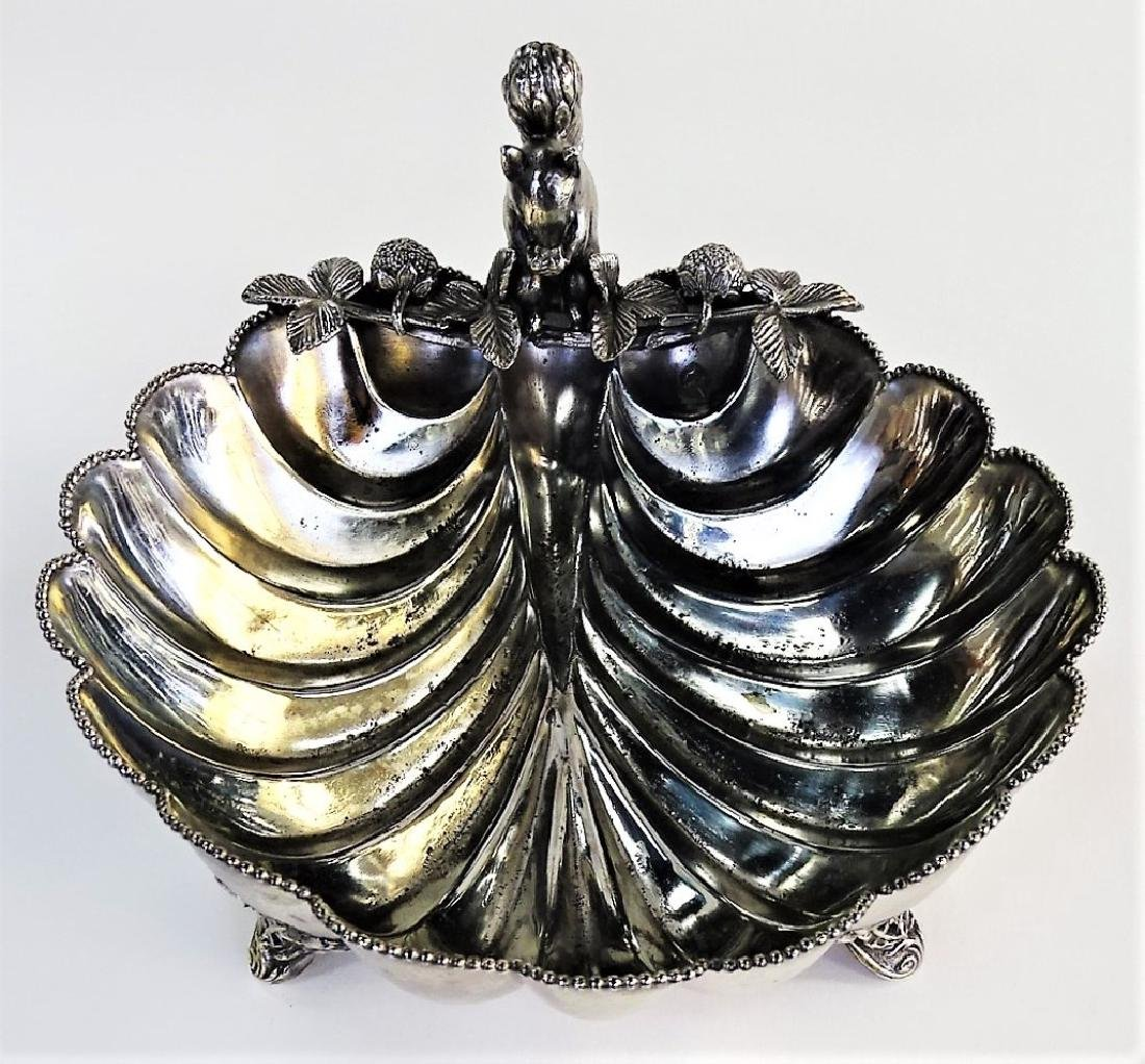 1881 ROGERS CANADA EPBM SILVER PLATED BOWL