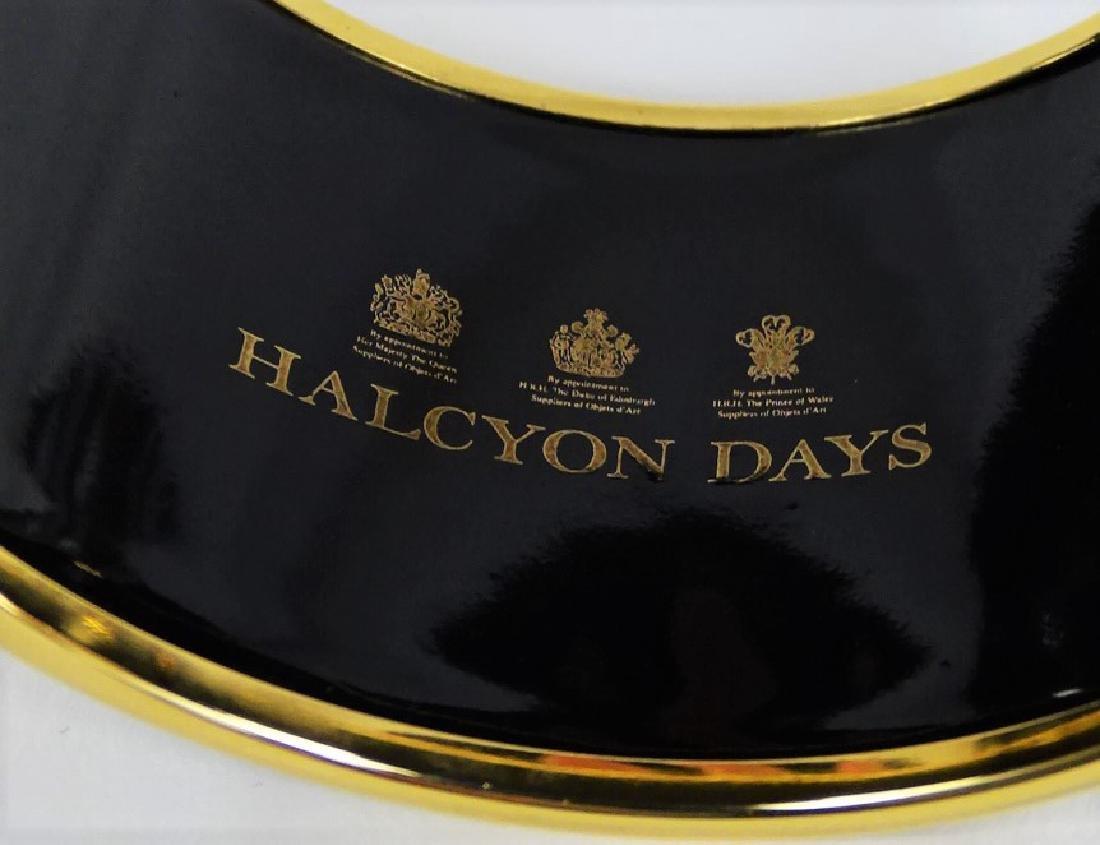 HALCYON DAYS - LONDON PAINTED ENAMEL TIGER BANGLE - 4