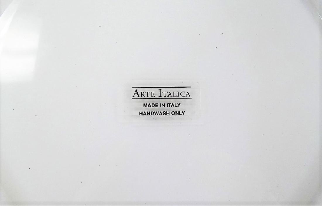 25 ARTE ITALICA GILT DECORATED CRYSTAL PLATES - 4