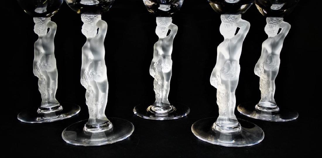 5 IGOR CARL FABERGE BACCHUS CORDIAL GLASSES - 3