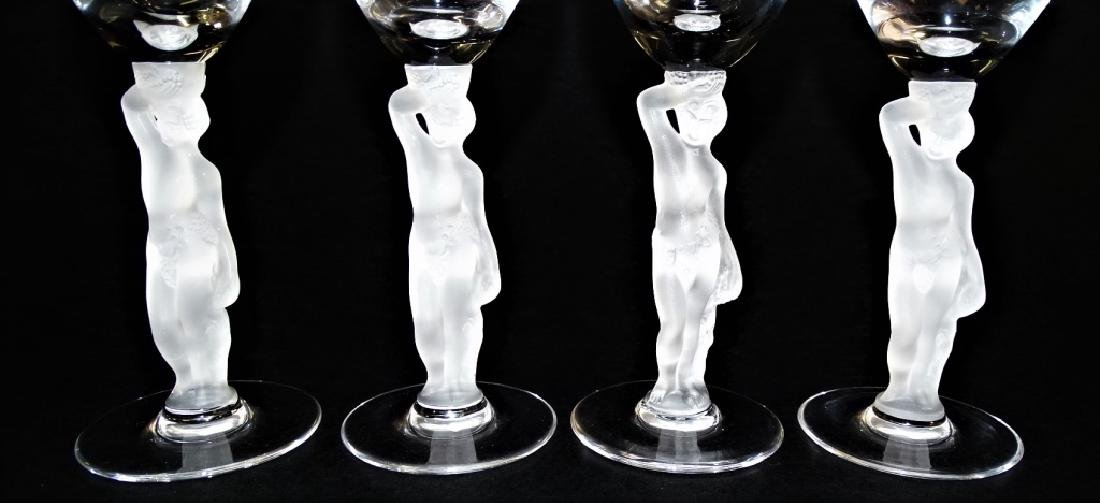 4 IGOR CARL FABERGE BACCHUS SHERRY GLASSES - 2