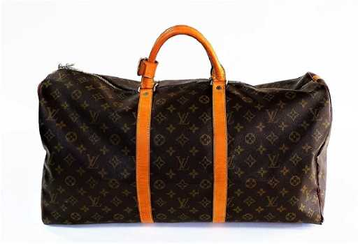 4deed17cd6f3 ... VINTAGE LOUIS VUITTON MONOGRAM CARRY-ON DUFFEL BAG. See Sold Price Louis  Vuitton Keepall Bandouliere 45 Bag ...