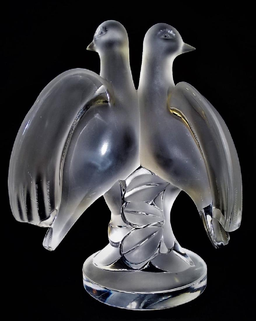 LALIQUE 'ARIANE' MOLDED FRENCH CRYSTAL FIGURE