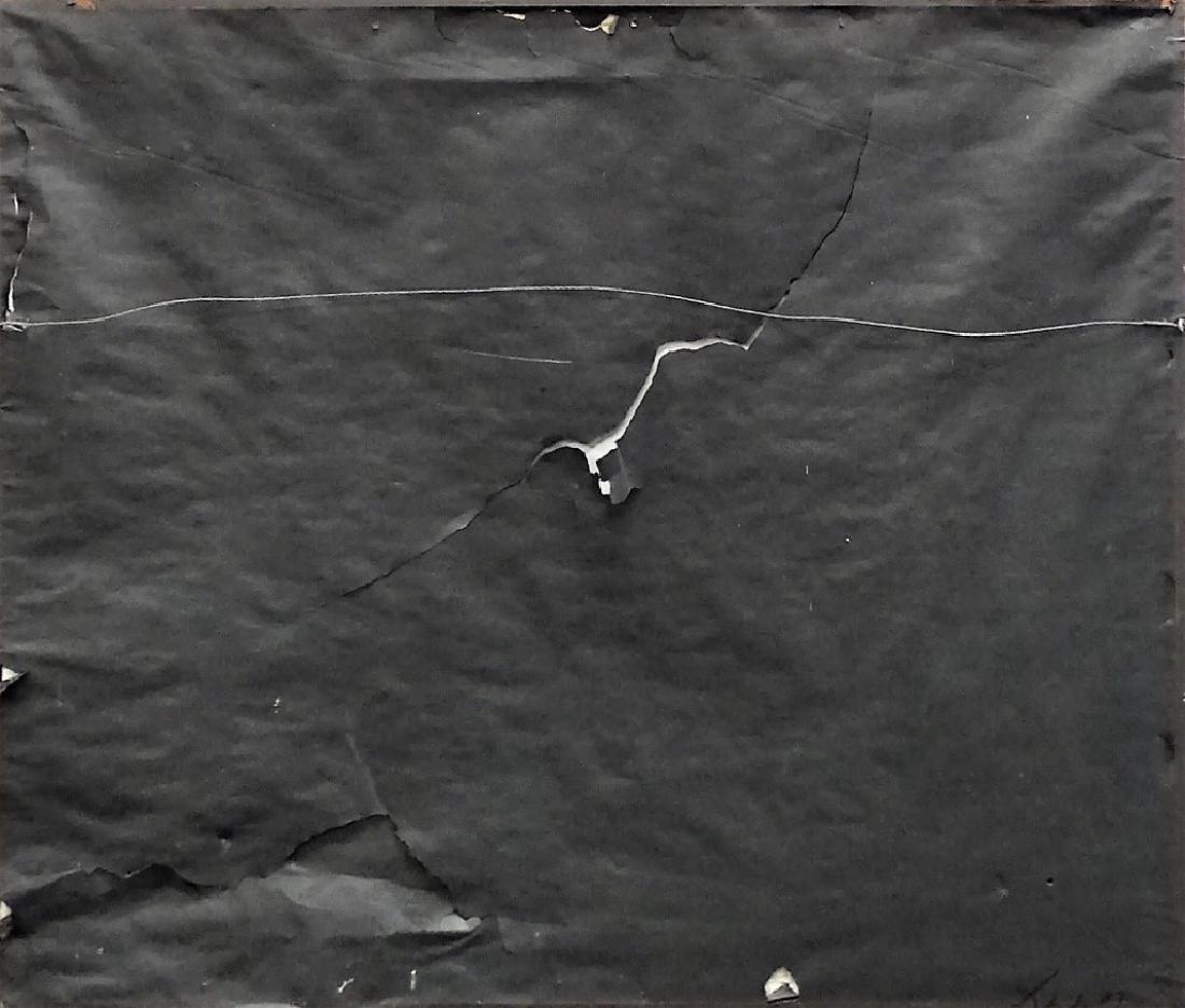 20TH C. MIKE SAMURAI ACRYLIC ON CANVAS PAINTING - 4