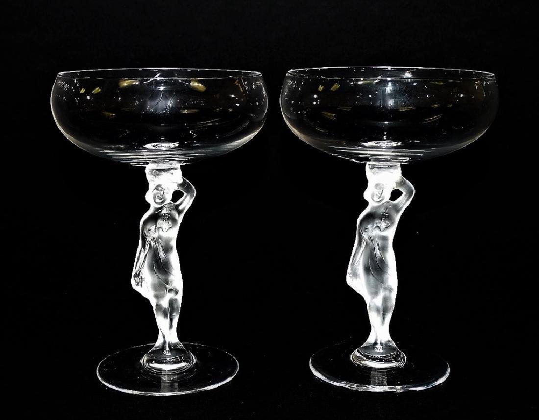 PR IGOR CARL FABERGE BACCHUS MARTINI GLASSES