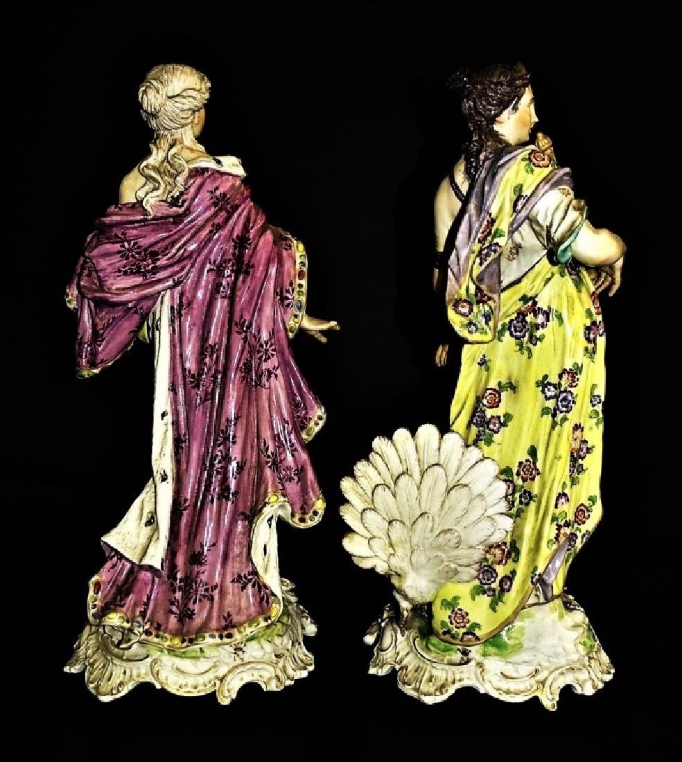 PR ANTIQUE CONTINENTAL PORCELAIN FIGURE GROUPS - 3