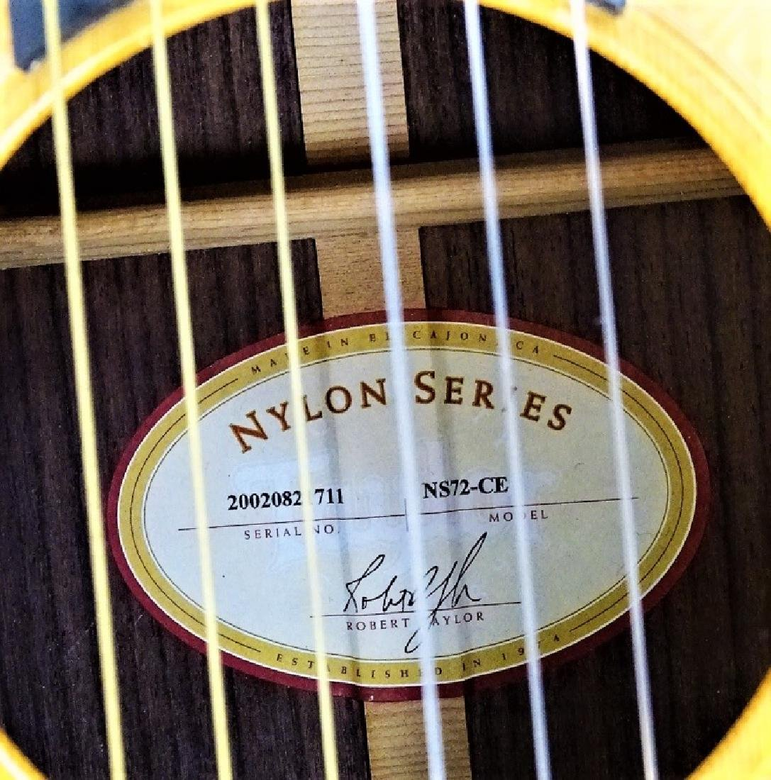 TAYLOR NS72CE CLASSICAL ACOUSTIC ELECTRIC GUITAR - 3