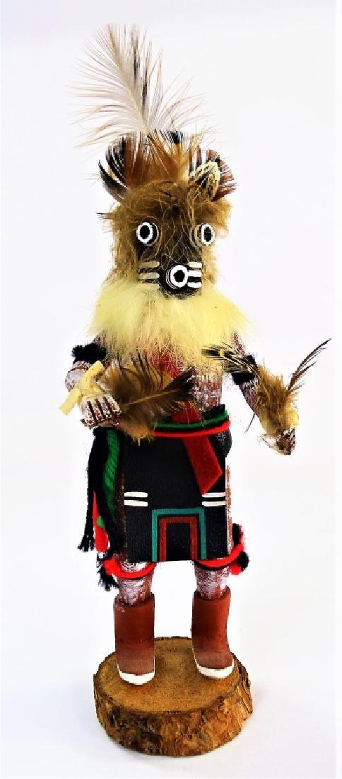 NATIVE AMERICAN CARVED MOCKING BIRD KATSINA DOLL