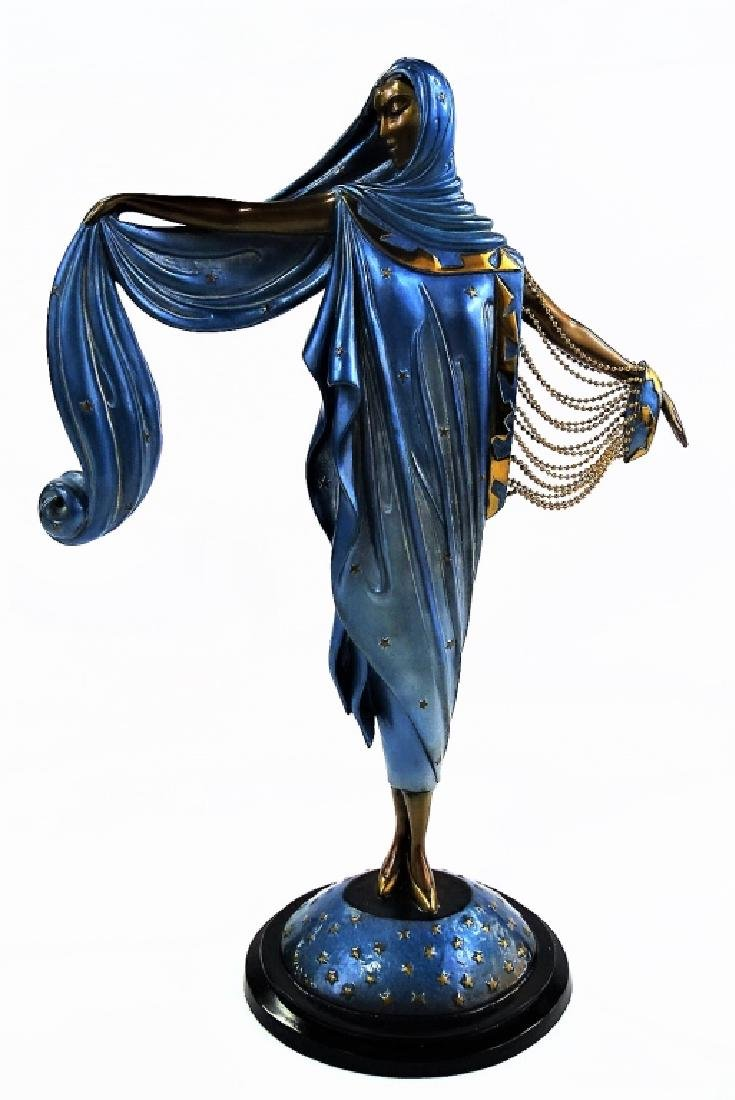 ERTE L/E BRONZE MOONLIGHT SCULPTURE 259/375