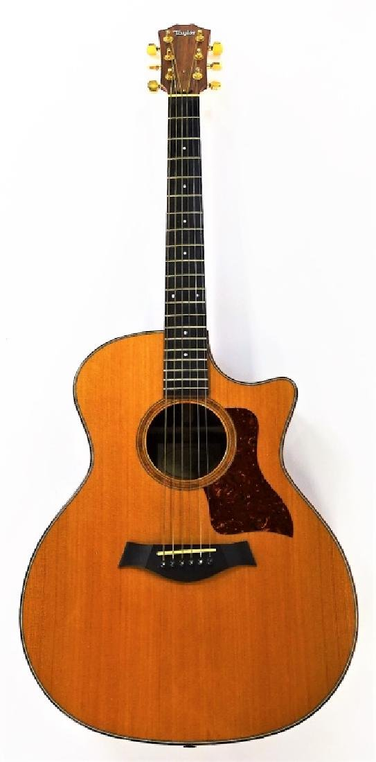 TAYLOR GRAND AUDITORIUM ACOUSTIC ELECTRIC GUITAR - 2