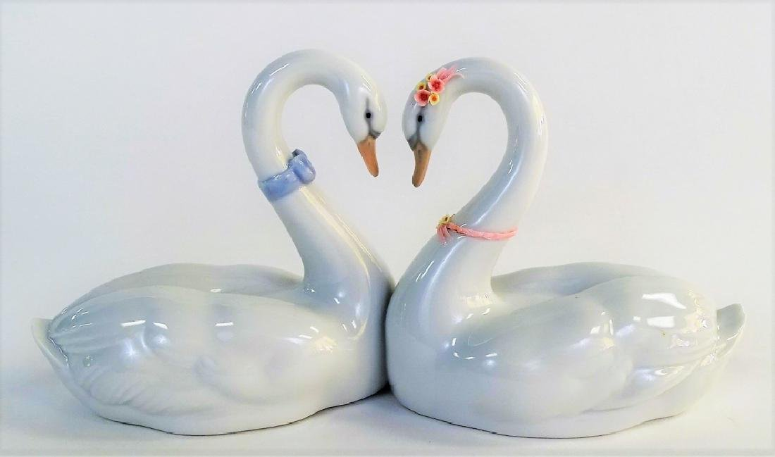 LLADRO ENDLESS LOVE PORCELAIN GROUP #6585