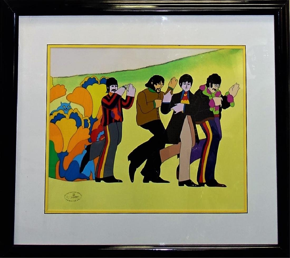 ORIGINAL H/P YELLOW SUBMARINE ANIMATION CEL