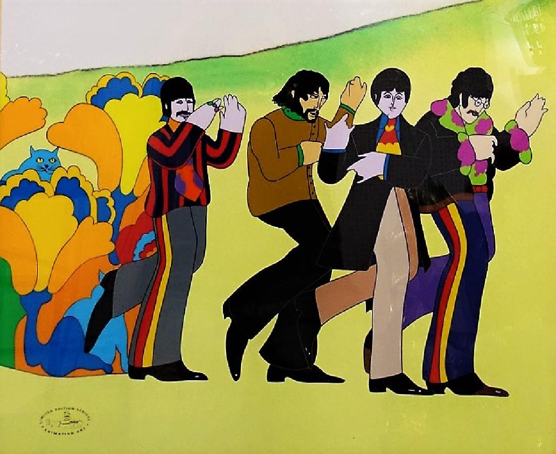 ORIGINAL H/P YELLOW SUBMARINE ANIMATION CEL - 2