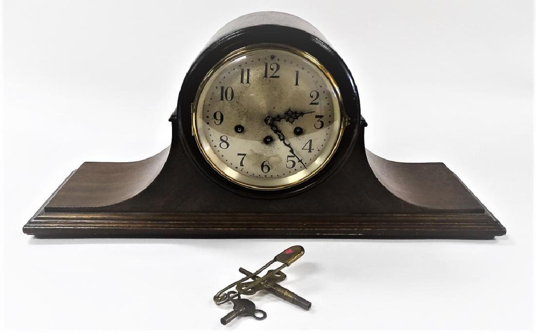 LARGE SETH THOMAS ANTIQUE SHELF CLOCK