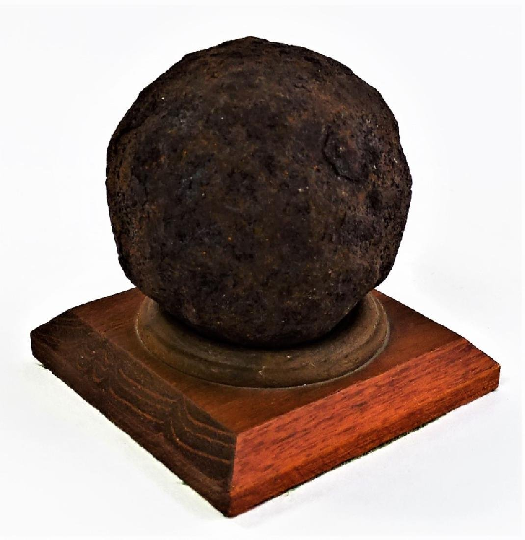 RARE CIVIL WAR ERA CANNON BALL