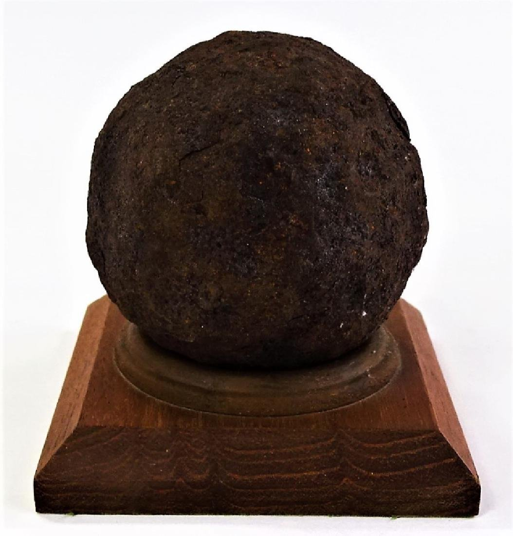 RARE CIVIL WAR ERA CANNON BALL - 2