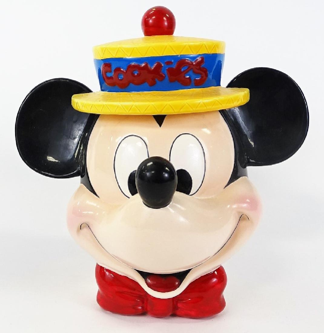 LARGE DISNEY MICKEY MOUSE COOKIE JAR