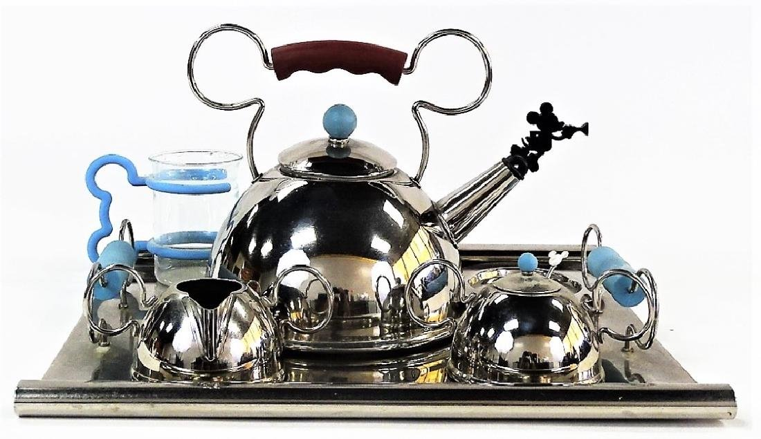 DISNEY GOURMET COLLECTION TEA SET BY MICHAEL GRAVE
