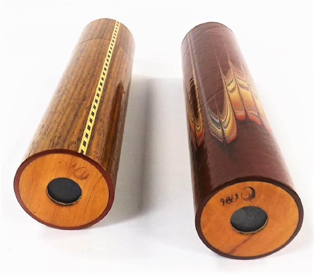 2 VINTAGE LARGE KALEIDOSCOPES TUBES - 2